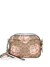 Rose Logo Camera Bag TAN