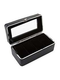 Men's Four-Piece Watch Case BLACK