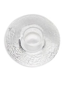 Crystal Discus Votive SILVER