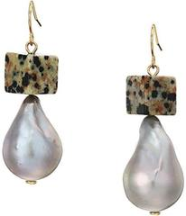 Tory Burch Baroque Pearl And Bead Drop Earrings