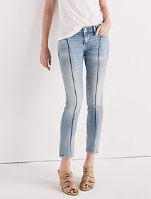 Lolita Mid Rise Skinny Jean With Pintuck