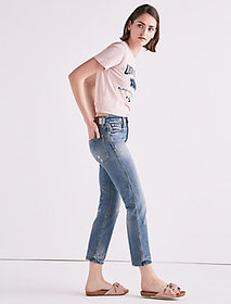Made In L.a. Lucky Pins High Rise Jean In Wilkins