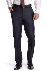 Brooks Brothers Blue Plaid Regent Fit Trousers - 3