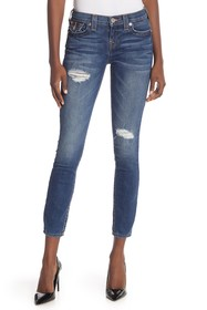 True Religion Halle Super Skinny Ankle Jeans