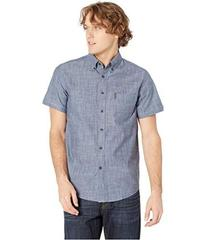 Ben Sherman Slub Chambray Short Sleeve Shirt