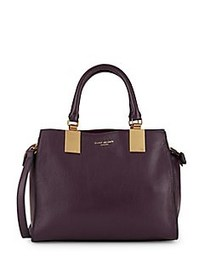Emma Leather Satchel WINE