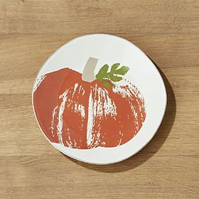 Marin Brushed Pumpkin Salad Plate