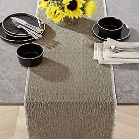 "Barnes 90"" Olive Green Table Runner"
