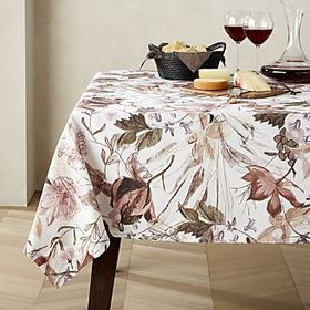 Bella Flower Pattern Tablecloth