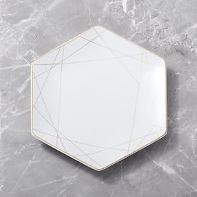 Metallic Hexagon Plate
