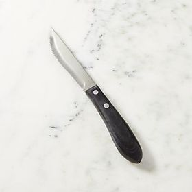 Steak Knife with Pakka Wood Handle