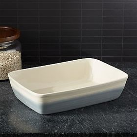 Grey Dip Baking Dish