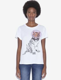 WOMEN'S STREET ART BY PAUL FUENTES CREWNECK TEE