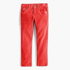 Boys' cord in stretch fit