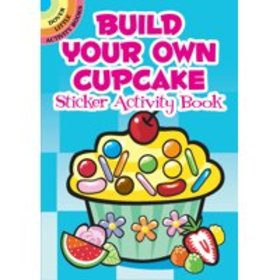 Build Your Own Cupcake Sticker Activity Book (Hard