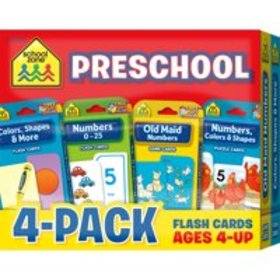 Flash Cards 4-Pack-Reading