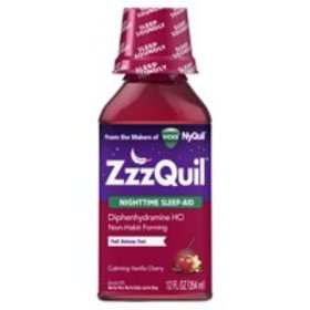 ZzzQuil Nighttime Sleep Aid Liquid by Vicks, Calmi