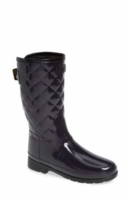 Hunter Refined High Gloss Quilted Short Waterproof