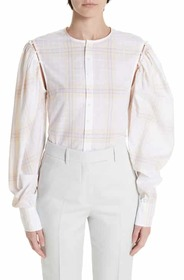 CALVIN KLEIN 205W39NYC Removable Sleeve Blouse