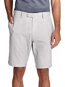 Pincord Bermuda Shorts GREY