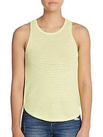 Candice Pointelle Tank Top LIME
