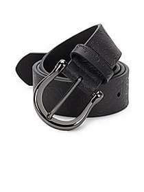 Vince Leather Belt BLACK