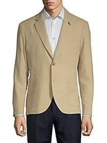 Bekele Textured Jacket TAN