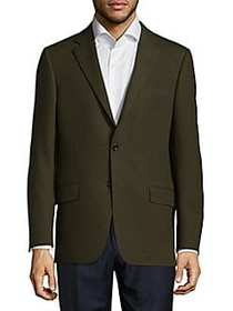 Milburn II Cotton & Wool Blazer GREEN
