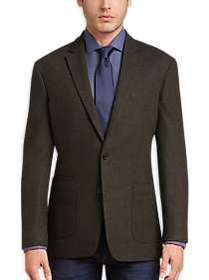 Awearness Kenneth Cole Olive Tic Slim Fit Sport Co