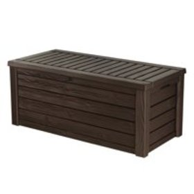 Keter Westwood 150 Gallon Resin Outdoor Deck Box/S