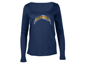 San Diego Chargers 5th & Ocean NFL Women's Logo Lo