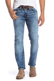 True Religion Midnight Topstitched Skinny Jeans