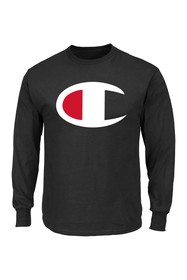 Champion Long Sleeve Large Logo Shirt (Big & Tall)