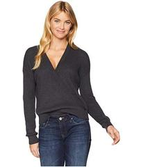 Splendid Cashmere Blend Surplice Sweater