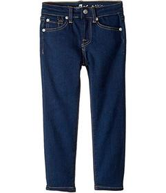 7 For All Mankind Skinny Jeans in Rinsed Indigo (L