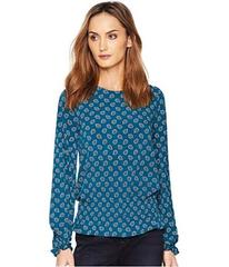 MICHAEL Michael Kors Smocked Long Sleeve