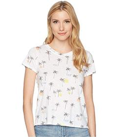 Lucky Brand All Over Palm Tree Tee