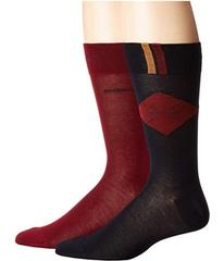 BOSS Hugo Boss 2-Pack Argyle Dress Socks
