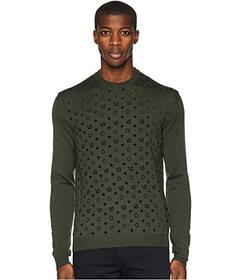 Versace Jeans Couture Patterned Sweater