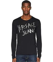 Versace Jeans Couture Logo Long Sleeve T-Shirt