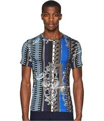Versace Jeans Couture Embelisshed Vertical Stripe