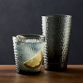Pebbled Drinking Glasses