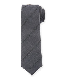 Finely Striped Tie