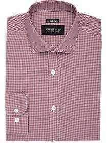 Awearness Kenneth Cole Burgundy Check Extreme Slim