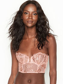 Dream Angels Scalloped Lace Bustier