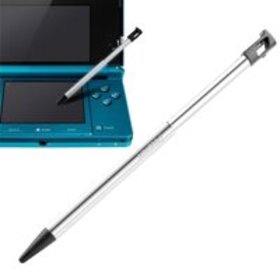 Insten Metal w/ Black Cap Retractable Stylus For N