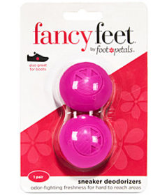 Fancy Feet by Foot Petals Sneaker Deodorizers Shoe