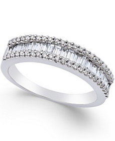 Diamond Band Ring (5/8 ct. t.w.) in 14k White Gold