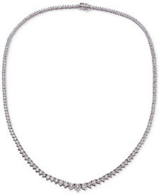"""Diamond Collar 17.5"""" Necklace (3 ct. t.w.) in 14k"""