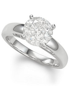 Diamond Solitaire Engagement Ring (3 ct. t.w.) in